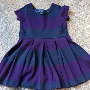 POLO 2T fit and flare dress